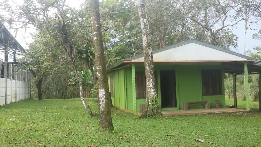 Green House Sarapiqui: Near to all - Dům