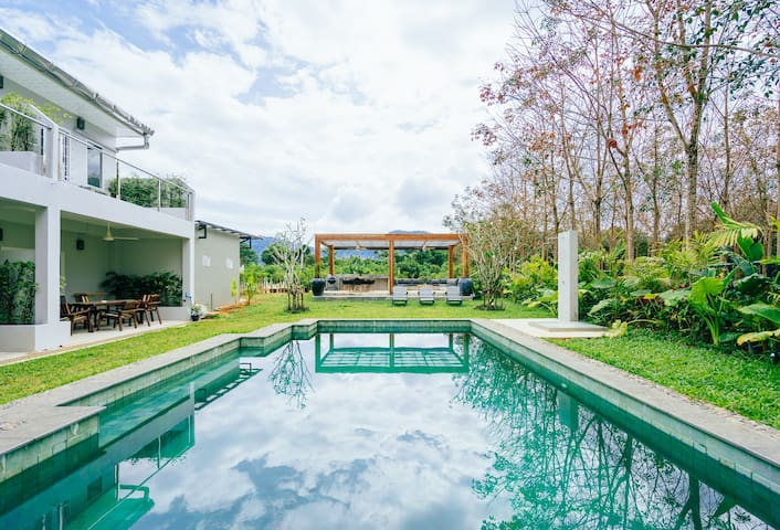 2-bedr. Isara house Khao Lak with pool access 13 - Khuekkhak - Casa