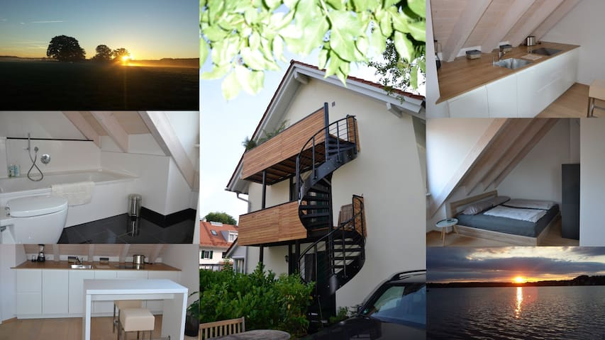 See-Apartment Wörthsee - Wörthsee - Leilighet
