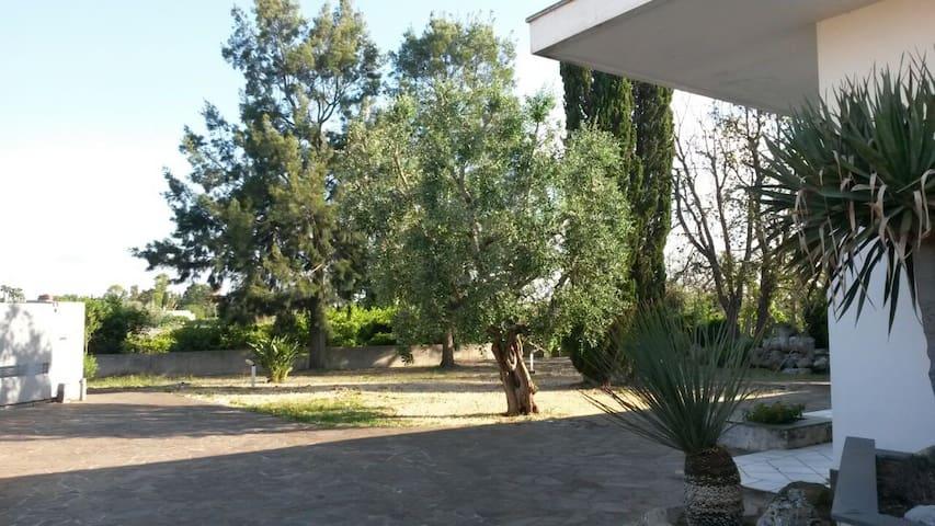 villa singola con grande giardino - GALATINA