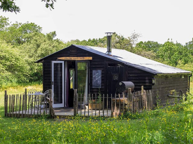 The Old Apple Shed (Set in its own private meadow) - Ashford - Stråhytte