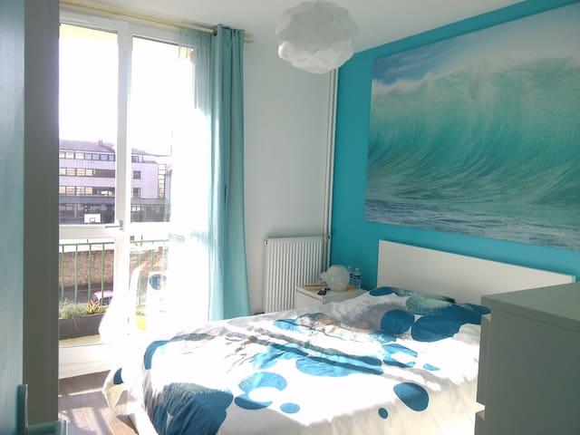 Chez Sylvie : Chambre double à Rambouillet - Rambouillet - Apartmen