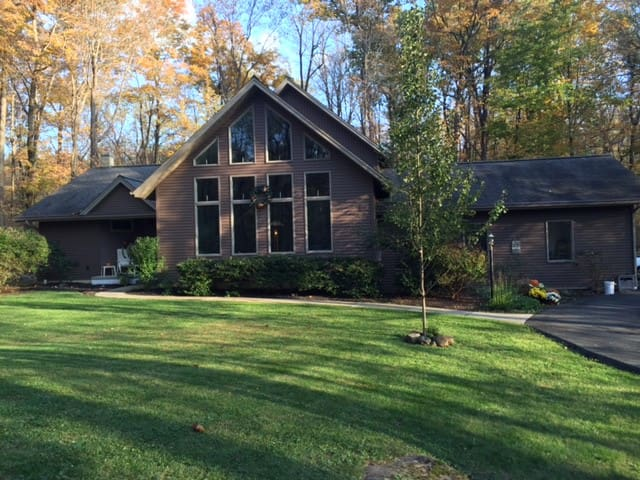 Private home surounded by nature - Kintnersville - Hus