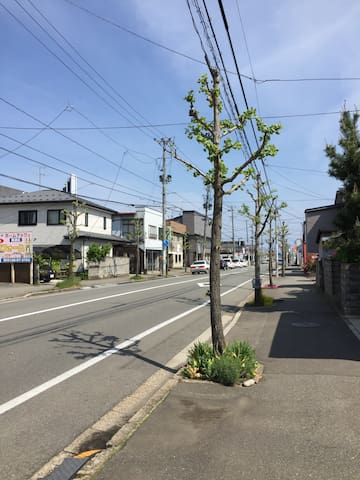 travel as living there - Akita - Daire