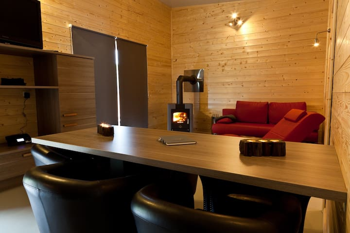 Ferienhaus Heides Hütte 3 am Waldsee Rieden/Eifel - Rieden - Casa de huéspedes