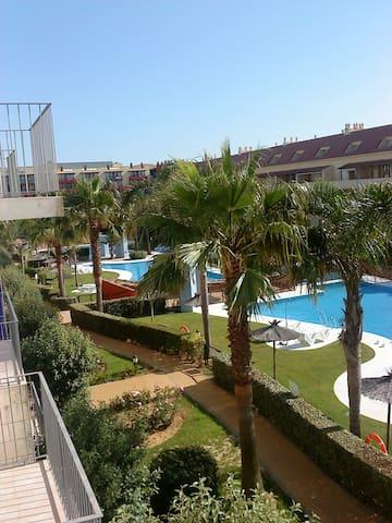 COQUETO APARTAMENTO IDEAL PARA PLAYA Y GOLF - Huelva - Condomínio