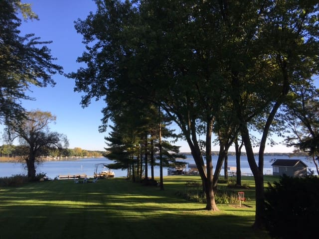 Lake house close to Erin Hills 2017 US Open - Delafield - Casa