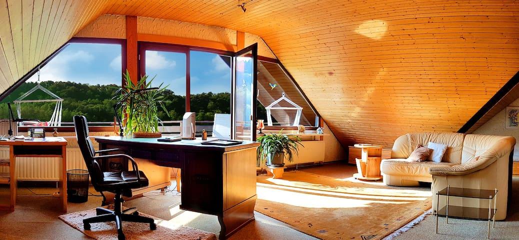 Quiet and idyllic holidayapartment - Trulben - Leilighet