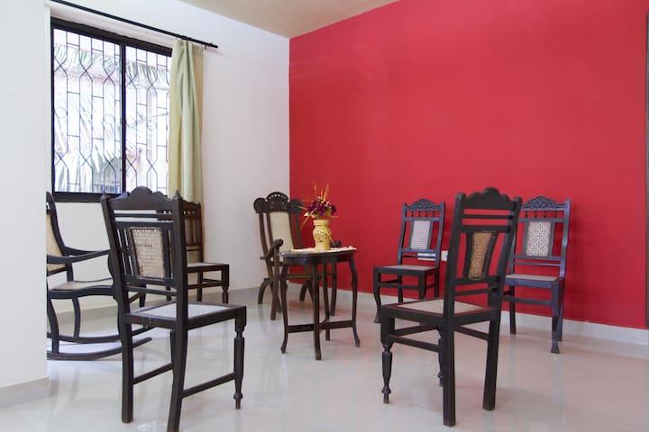 Large clean 2BHK Goan apartment in Margao centre - Margao