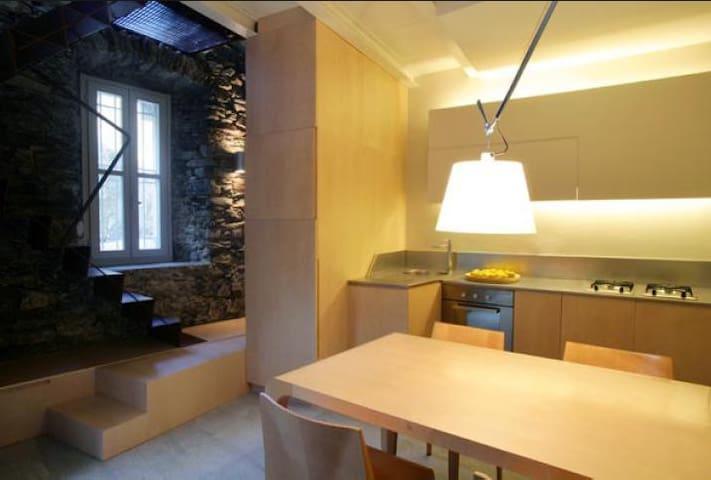 Lake Maggiore. Contemporary Tower - Bee - Casa