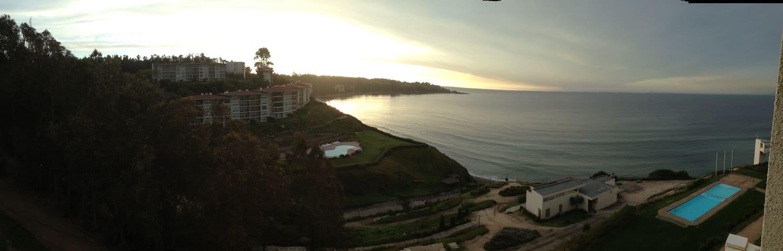 Hermoso Dept  Playa, frente al mar, - Puchuncaví - Appartement