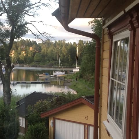 Nice apartment with sea view 20min. outside Oslo - Asker - Departamento