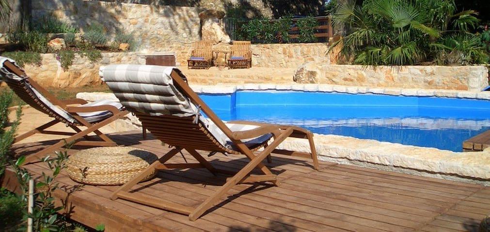 Ferienhaus mit Pool Porec Decovici für 4 Personen - Nova Vas - Дом