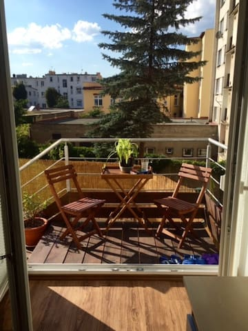 Room with terrace and garden in the city center - Teplice - Daire