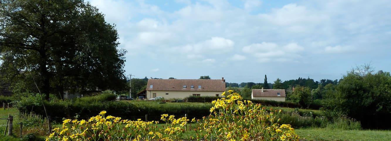 La ferme du Charnay - Toury-sur-Jour - Hus