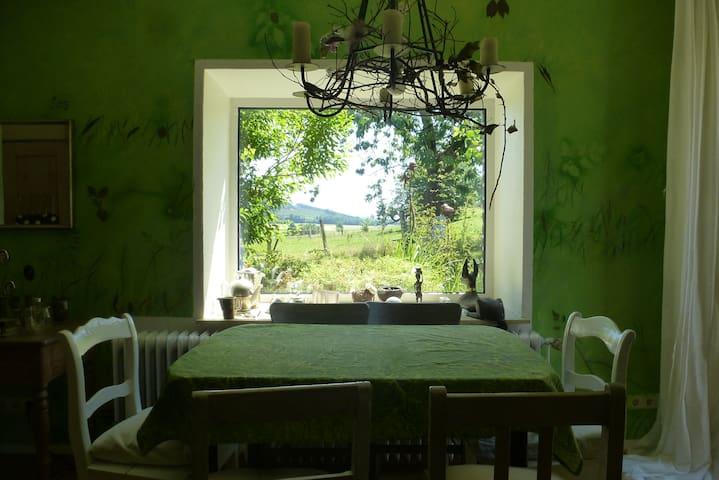 Idyllischer Hof mit Weitblick - Balve - Appartement