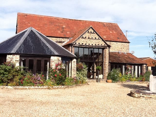 Conv Barn, S. Cotswolds, 2 king beds, 2 bathrms - Wotton-under-Edge - Haus