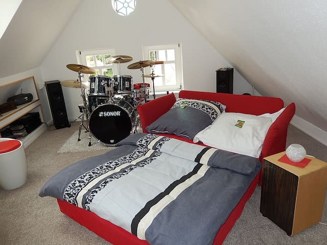Cosy little music room - Großefehn - Casa