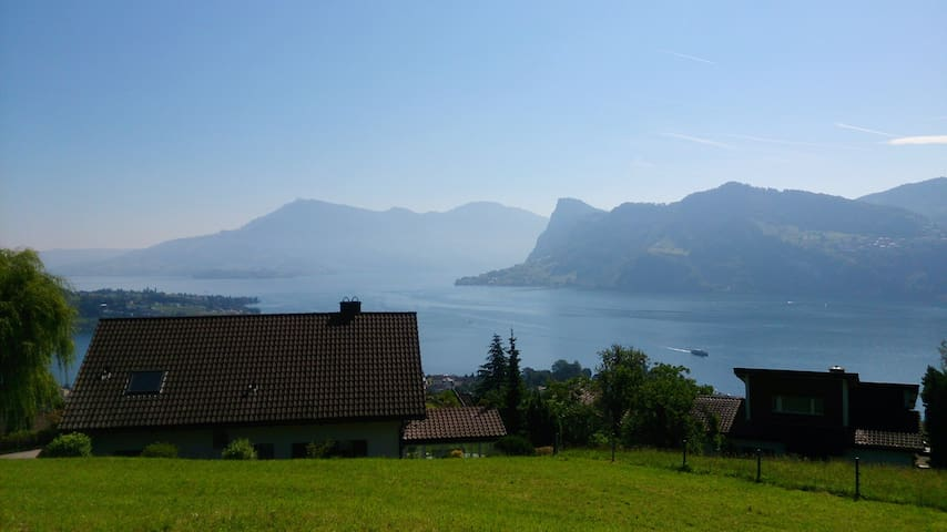 185 sqm lake view Luzern - Hergiswil - Apartment