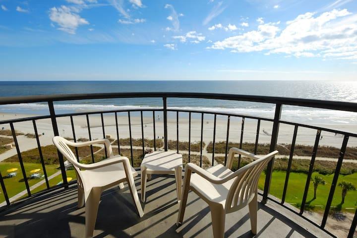 Prefect sized Oceanfront King Suite@ Meridian 1203 - Myrtle Beach - Boutique-hotel