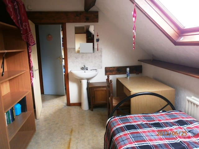 chambre chez l'habitant - Tournai - Pousada