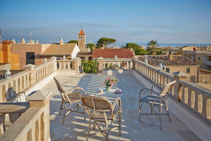 charmantes Haus Meernähe - Colonia de Sant Pere - Ev