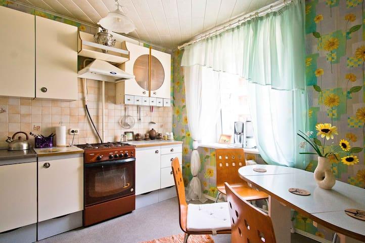 Уютная  квартира в центре города Смолевичи - Smalyavichy - Lägenhet