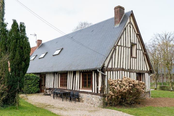 chant des hirondelles maison normande authentique - Auzouville-Auberbosc - Ev