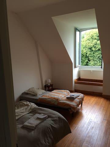 Chambre 2 entre Amiens et Abbeville - Crouy saint pierre - Apartamento