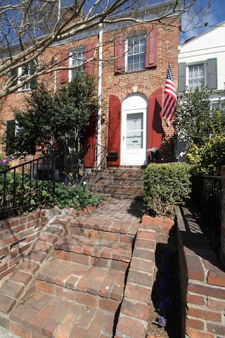 Private Level of 3-story Townhouse in Old Town - Alexandria