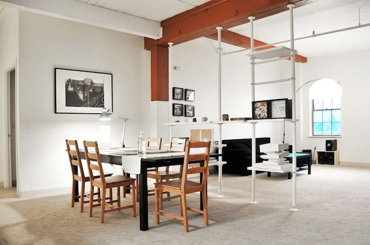 Artsy Spacious Loft MIT/Harvard - Cambridge - Loft