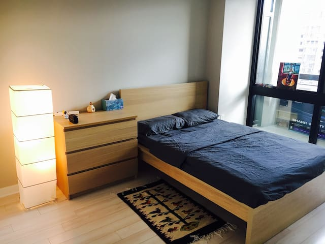 Private BR in luxury APT 5min to metro 10min to DC - Arlington - Departamento