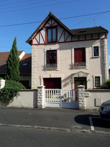 Chambre privée à 25 minutes Paris - Conflans-Sainte-Honorine - Bed & Breakfast