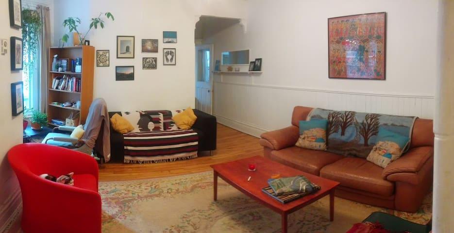 Spacious Room in Outremont/Mile-End - Montréal - Apartament
