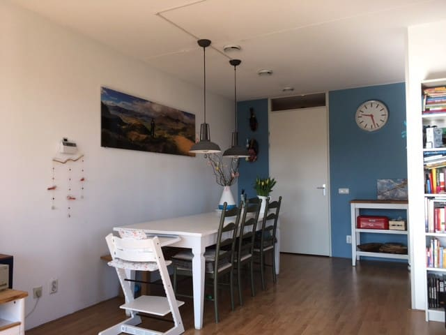 Comfortable, bright appartment near city centre - Utrecht - Apartamento