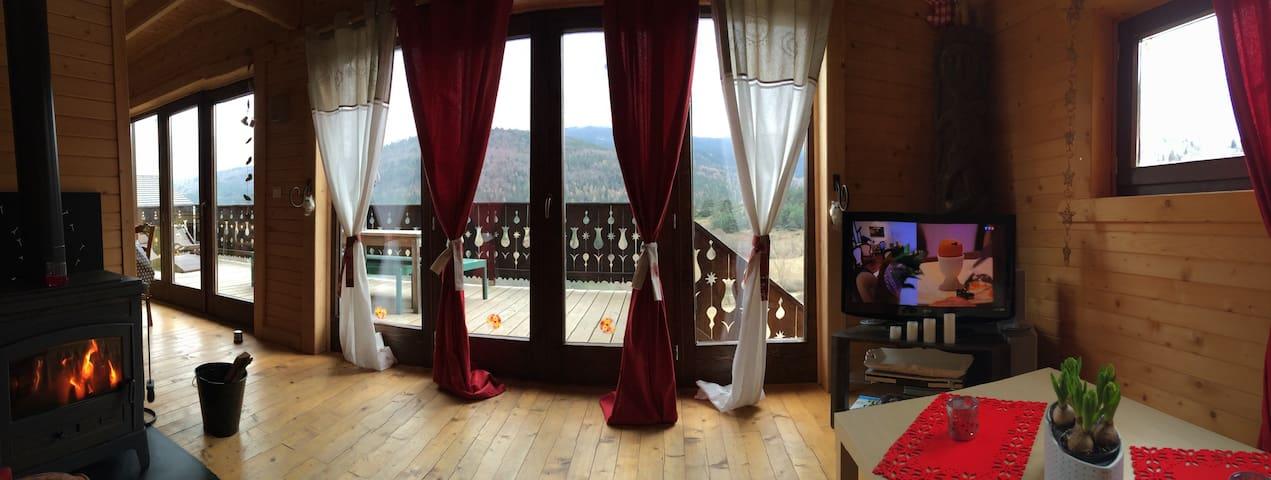 Beau chalet de montagne - Belcaire