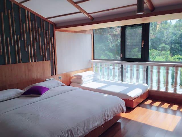 一大一小床,阳光家庭房 - 衡阳市 - Loft