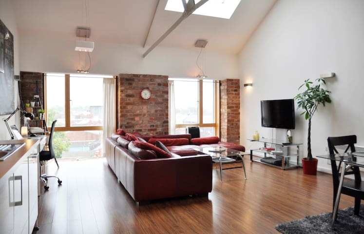 Penthouse Loft Apartment - Coventry - Coventry - Loft