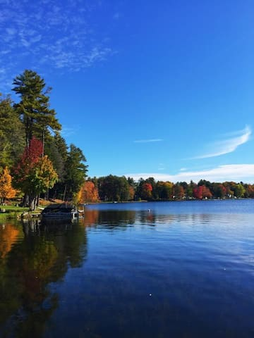 Lakefront Home near Saratoga, NY - Broadalbin - Huis