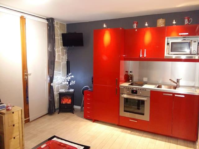 appartement en moyenne montagne - Hotonnes - Apartamento