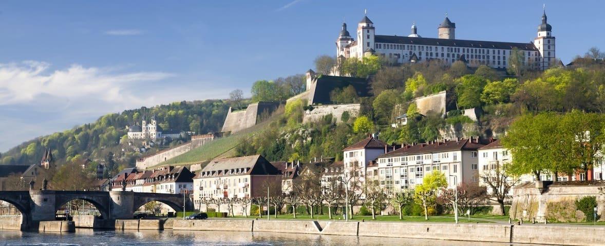 zentrale Ferienwohnung in Würzburg - Würzburg - Apartmen