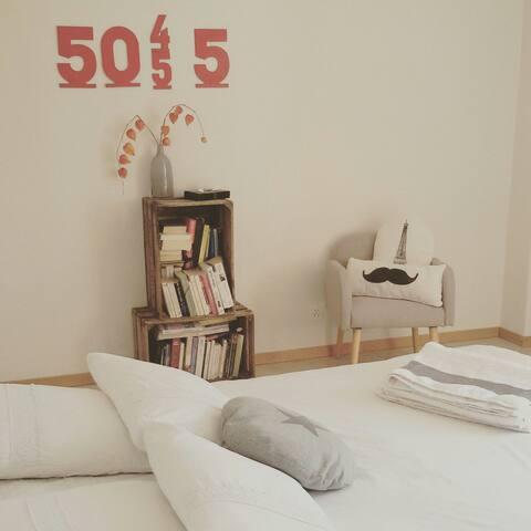 Jolie chambre à 5 mn du lac - Corseaux - House