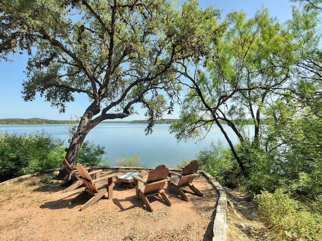 Serene Hill Country Lake Travis Waterfront - Spicewood - Dom