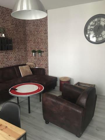 Appartement duplex chaleureux 80m2. - Châlons-en-Champagne - Daire