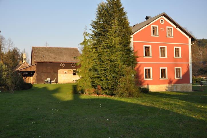 Gunter mill (Günter mühle) - Jetřichovice - Maison