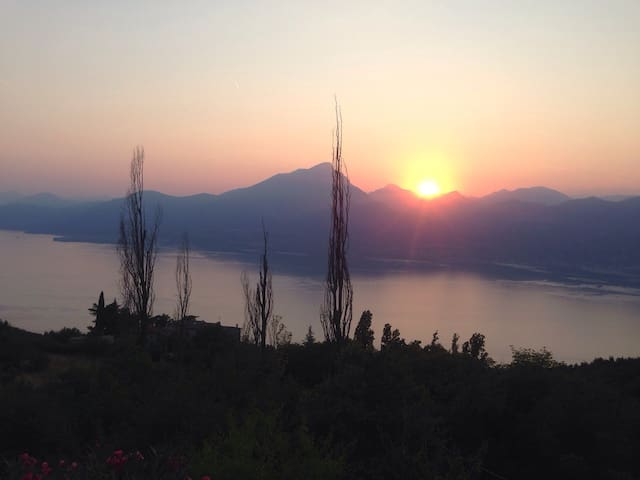 Luxury villa great Garda lake view - San Zeno di Montagna - 別墅