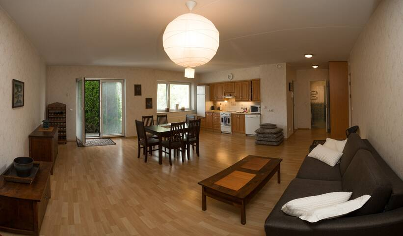 Beach holiday apartment (4+1) with a sunny terrace - Pärnu - Διαμέρισμα