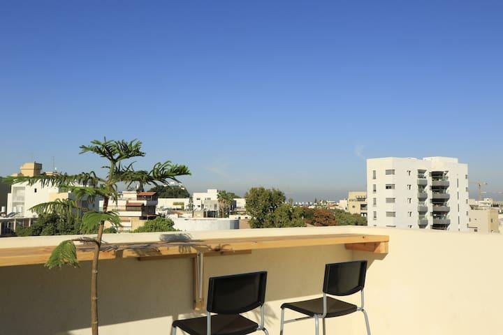 Newly built rooftop studio in downtown Herzliya - Herzliya