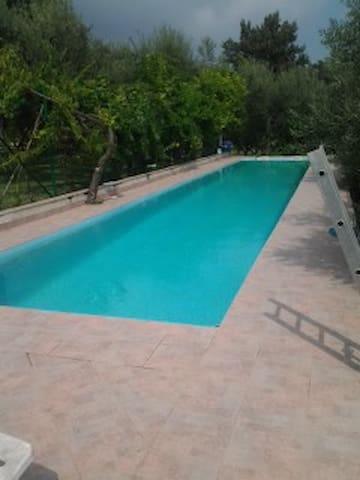 Between Rome&Naple  swiming pool - Selvacava - Bed & Breakfast