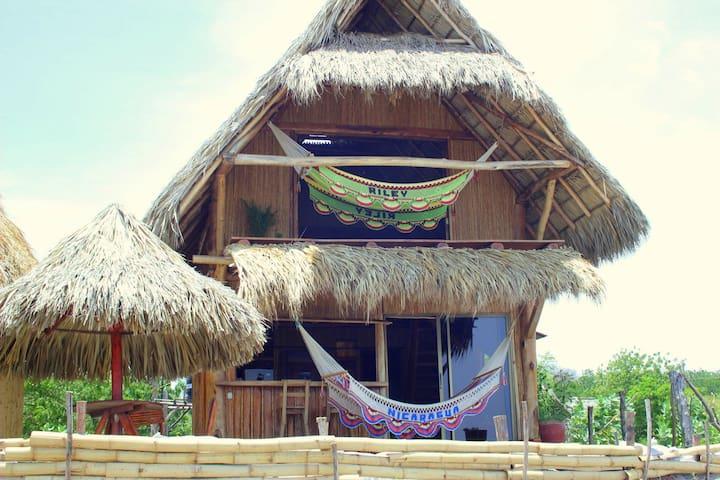 Casa Tranquila beach front villa Popoyo-Guasacate - Las Salinas - Huis